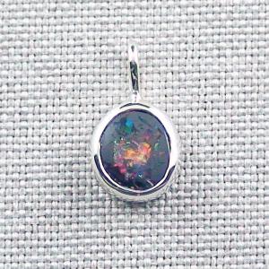 1,12 gr Silberanhänger 935 mit 1,78 ct Koroit Boulder Opal