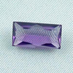 Violetter Amethyst 5,84 ct Baguette-Schliff Schmuckstein Edelstein