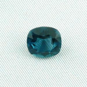 2,98 ct Turmalin Octagon Blau Grüner Indigolith Schmuckstein Edelstein