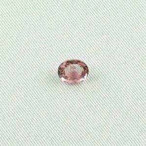 1,13 ct Turmalin Pink Tourmalin Oval Facettiert Edelstein