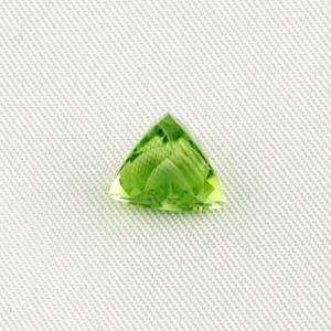 3,73 ct Peridot Triangle Schliff Chrysolith Edelstein Schmuckstein