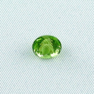 2,83 ct Peridot Chrysolith Oval Portuguese Ringstein Heilstein