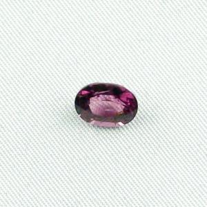 Violetter Amethyst 2,20 ct oval portuguese Schmuckstein Edelstein