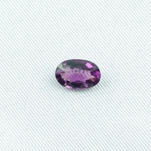 Violetter Amethyst 1,40 ct oval portuguese Edelstein Schmuckstein