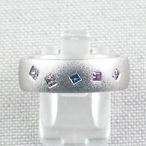 950er Platinring, Brillantring, Diamantring, Bandring