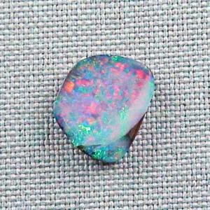 Boulder Opal 4.96 ct Investment Gem Edelstein Regenbogen Boulderopal