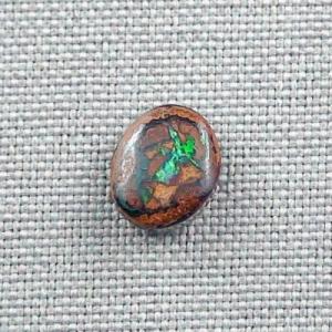 2,76 ct Koroit Boulder Opal Grüner Türkiser Multicolor Boulderopal
