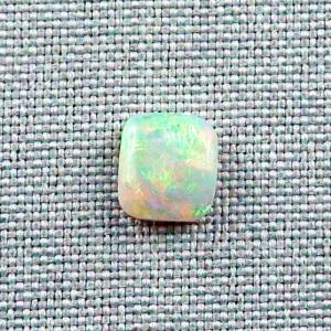 2,06 ct White Opal Multicolor Edelstein Lightning Ridge Australien