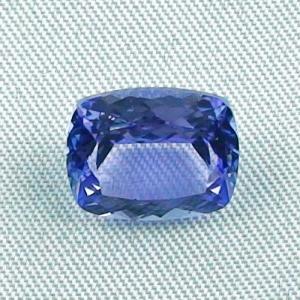 Großer blauer Tansanit 5,00 ct Edelstein Schmuckstein