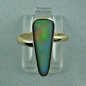 Preview: Goldring mit Opal - Edelstein Herrenring - Damenring