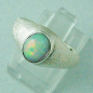 Mobile Preview: Opalring aus Silber mit 1,24 ct Welo Opal, Bild2