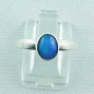 Preview: Sterling Silberring mit 0,59 ct Welo Opal - 925er Opalring, Bild1