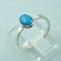 Preview: Sterling Silberring mit 0,59 ct Welo Opal - 925er Opalring, Bild3