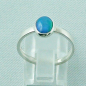 Preview: Sterling Silberring mit 0,59 ct Welo Opal - 925er Opalring, Bild4