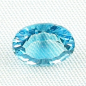 Preview: 2,83 ct AAA Blautopas Swiss Blue - custom oval cut | Jetzt Blautopaz online kaufen!