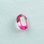 Mobile Preview: Neon Pinker oval facettierter AAA Rubellit Turmalin 1,68 ct