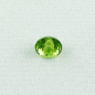 Mobile Preview: Chrysolith Peridot 2,60 ct oval portuguese Schliff Zertifikat leuchtend grün lupenrein
