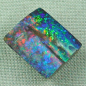 Preview: ♥ Regenbogen Boulder Opal 71,25 ct Investment Edelstein, Bild3