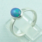 Mobile Preview: 925er Silberring Damen-Opalring mit 1,14 ct Welo Opal, Bild3