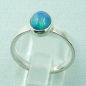 Mobile Preview: 925er Silberring Damen-Opalring mit 1,14 ct Welo Opal, Bild4