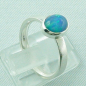 Mobile Preview: 925er Silberring Damen-Opalring mit 1,14 ct Welo Opal, Bild5