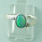 Preview: 2,59 gr Opalring, Sterling Silberring, 0,64 ct Welo Opal Edelstein, Bild1