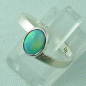 Preview: 2,59 gr Opalring, Sterling Silberring, 0,64 ct Welo Opal Edelstein, Bild2