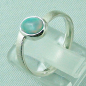 Preview: 2,59 gr Opalring, Sterling Silberring, 0,64 ct Welo Opal Edelstein, Bild3