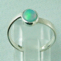 Preview: 2,59 gr Opalring, Sterling Silberring, 0,64 ct Welo Opal Edelstein, Bild4
