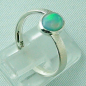Preview: 2,59 gr Opalring, Sterling Silberring, 0,64 ct Welo Opal Edelstein, Bild5