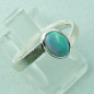Preview: 2,59 gr Opalring, Sterling Silberring, 0,64 ct Welo Opal Edelstein, Bild6