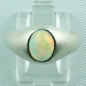 Preview: Massiver Damenring, Silberring 925, 1,37 ct Welo Opal, Bild1