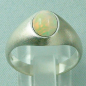 Preview: Massiver Damenring, Silberring 925, 1,37 ct Welo Opal, Bild4