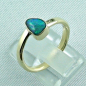Preview: 14k Gold-Opal-Ring mit Black Opal, Verlobungsring, Damenring, Bild3