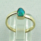 Preview: 14k Gold-Opal-Ring mit Black Opal, Verlobungsring, Damenring, Bild4