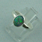 Preview: R00182 - 925er Sterling Silberring mit Black Crystal Opal 0,76 ct