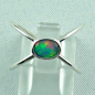 Preview: Sterling Silberring mit Top GEM Welo Opal 0,50 ct, Bild1