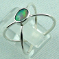 Preview: Sterling Silberring mit Top GEM Welo Opal 0,50 ct, Bild3