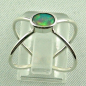 Preview: Sterling Silberring mit Top GEM Welo Opal 0,50 ct, Bild4