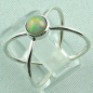Preview: Sterling Silberring mit Top GEM Welo Opal 0,78 ct, Bild3