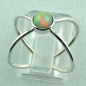 Preview: Sterling Silberring mit Top GEM Welo Opal 0,78 ct, Bild4