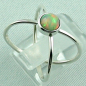Preview: Sterling Silberring mit Top GEM Welo Opal 0,78 ct, Bild5