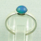 Mobile Preview: 925er Silberring Damen-Opalring mit 1,10 ct Welo Opal, Bild4