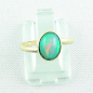 Preview: 750er Goldring, 18k  Opalring mit 1,26 ct Welo Opal, Bild1