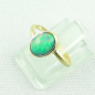 Preview: 750er Goldring, 18k  Opalring mit 1,26 ct Welo Opal, Bild2