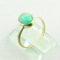 Preview: 750er Goldring, 18k  Opalring mit 1,26 ct Welo Opal, Bild3