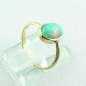 Preview: 750er Goldring, 18k  Opalring mit 1,26 ct Welo Opal, Bild5