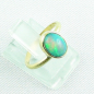 Preview: 750er Goldring, 18k  Opalring mit 1,26 ct Welo Opal, Bild6
