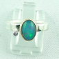 Preview: 4,23 gr Opalring, 1,00 ct Welo Opal in 18k Gold u. Diamant, Bild1