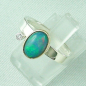 Preview: 4,23 gr Opalring, 1,00 ct Welo Opal in 18k Gold u. Diamant, Bild2
